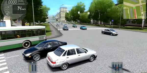 симулятор вождения City Car Driving скачать торрент - фото 7