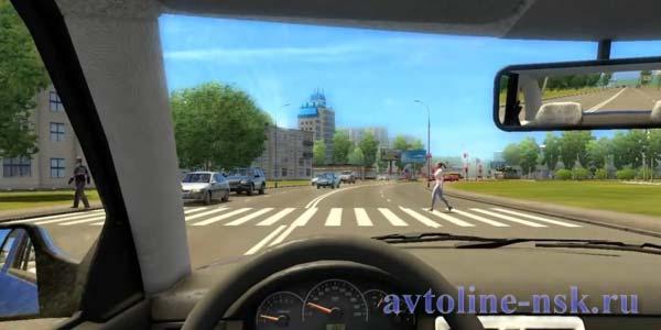симулятор вождения City Car Driving скачать торрент - фото 8
